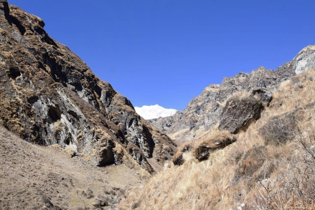 More views from the Macchapuchare Base Camp. These will be covered in snow during winter