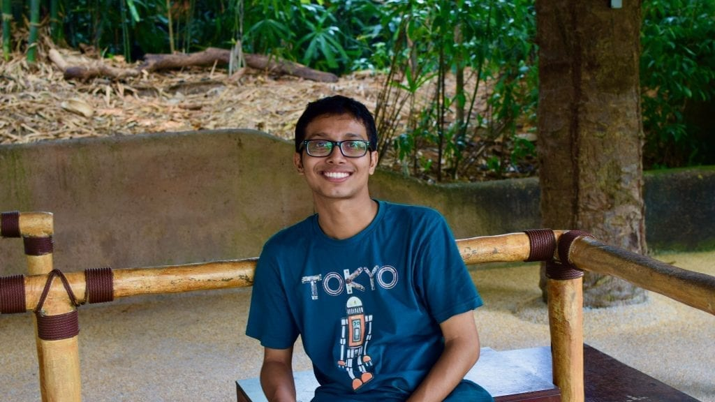 Fuad in Singapore Zoo