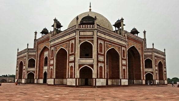 Humayun's Tomb from an Angle