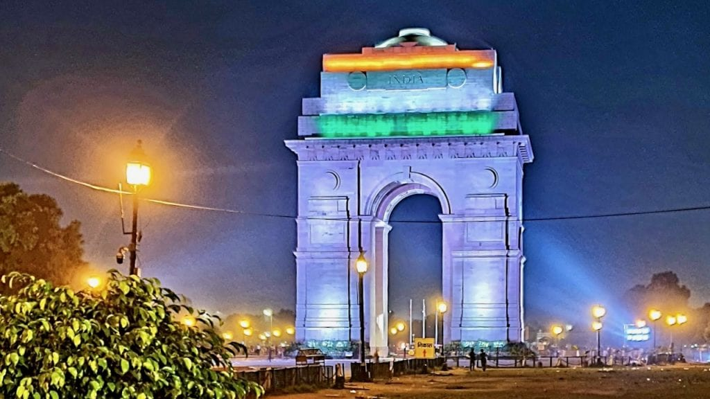 Visit India gate if you on day one of your Delhi in 2 days plan.