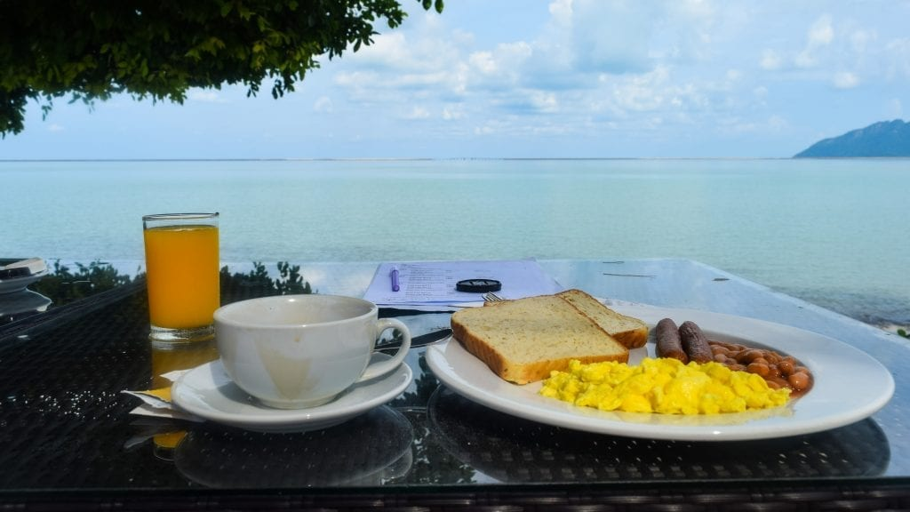 Breakfast in Langkawi