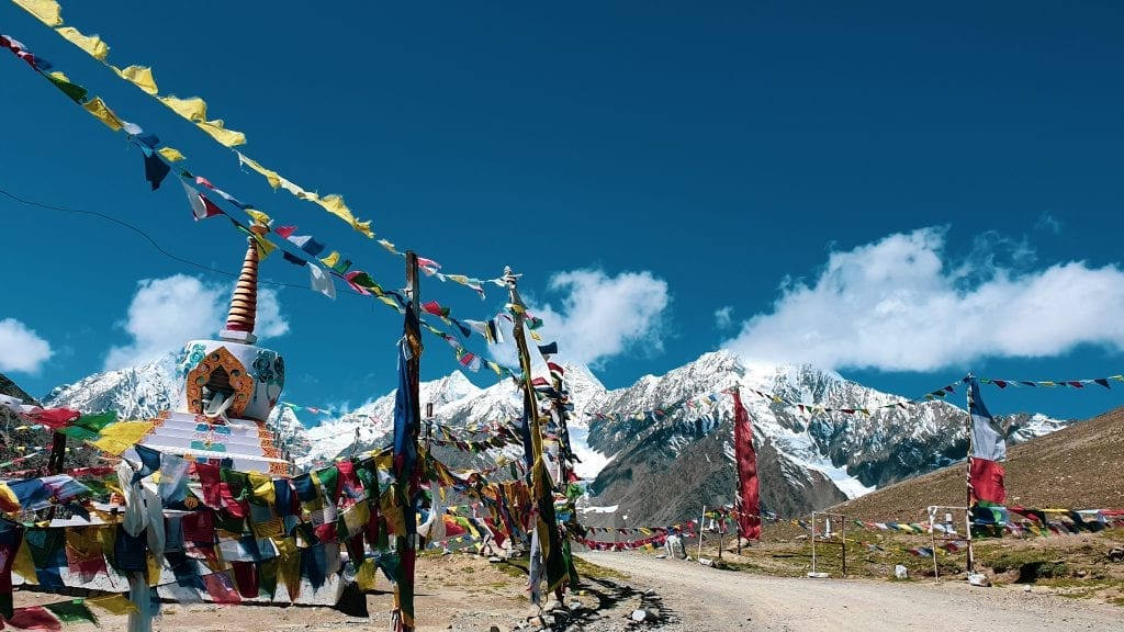 Kunzum La Pass in Spiti Valley