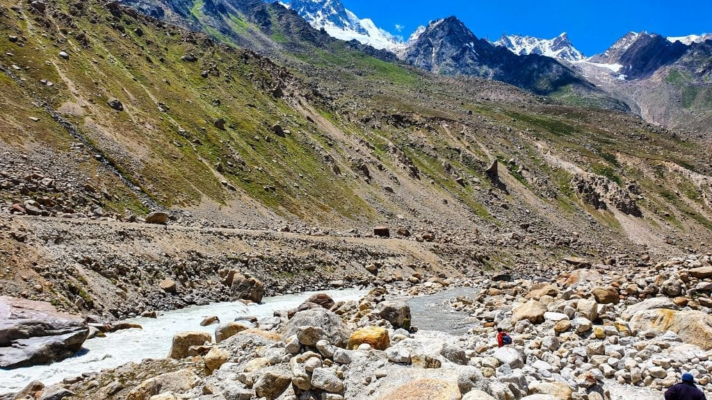Water Stream on way to Spiti Valley